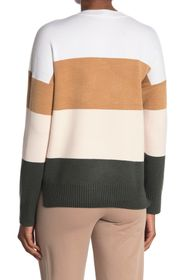 French Connection Striped Crew Neck Sweater