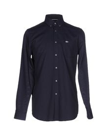 LACOSTE - Solid color shirt