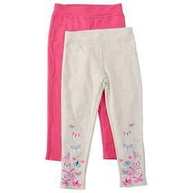 Girls (4-6x) Colette Lilly 2pk. Butterfly Jeggings