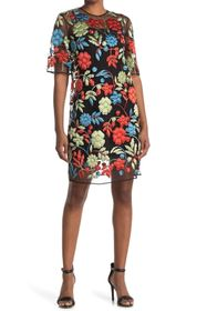 Burberry Floral Embroidered Dress