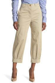 Burberry Pleated Cuff Trousers