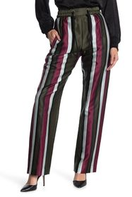 Burberry Striped Trousers