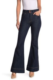 alice + olivia High Waisted Bell Bottom Jeans