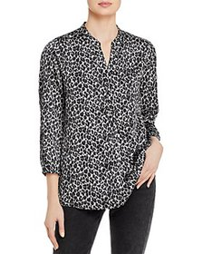VINCE CAMUTO - Ruched Sleeve Blouse