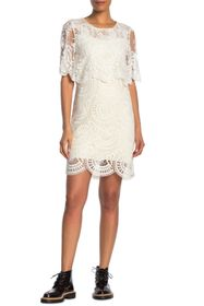 Burberry Lace Popover Dress