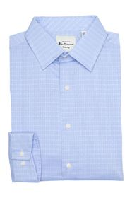Ben Sherman Diamond Dobby Check Dress Shirt
