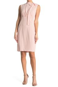 Vince Camuto CHIFFON AND SIGNATURE STRETCH