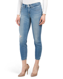 Mid Rise Ava Skinny Jeans