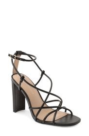 BCBGeneration Wanni Leather Block Heel Sandal