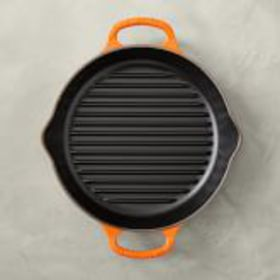 Le Creuset Enameled Cast Iron Round Grill Pan