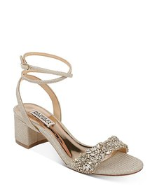 Badgley Mischka - Women's Jada Embellished Strappy