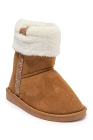 bebe Studded Faux Fur Lined Winter Boot