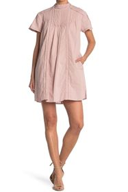 Burberry Lace Pleated Woven Dress