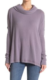 Free People Juicy Long Sleeve Cowl Neck Sweater