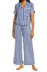 Free People Stripe Wide Leg Pajamas