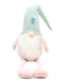 32in Fabric Gnome With Long Legs
