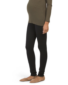 Maternity Made In Usa Rocket Skinny Over The Belly