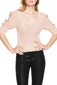 BCBGeneration Puff Sleeve Sweater
