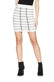 BCBGeneration Jacquard Knit Mini Skirt
