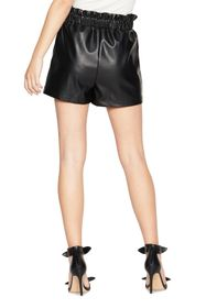 BCBGeneration Faux Leather Paperbag Shorts