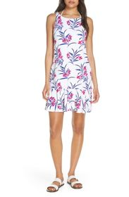 Tommy Bahama Oasis Blossoms Spa Cover-Up Dress