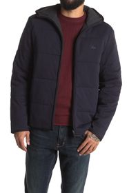 Lacoste Quilted Hooded Jacket