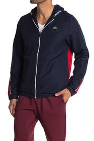 Lacoste Colorblock Hooded Track Jacket