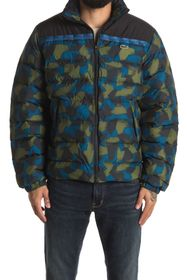 Lacoste Printed Quilted Jacket
