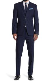 Perry Ellis Slim-Fit Comfort Stretch Two-Piece Sui