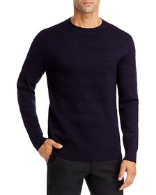 Theory - Gregson X Merino Wool Stripe Relaxed Fit