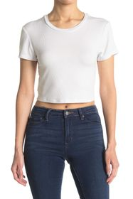 BCBGeneration Baby Cropped Knit Top