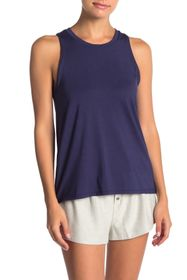 French Connection Solid Flare Tank