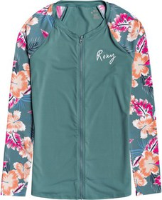Roxy Fashion Zip-Up UPF 50 Lycra Rashguard - Women