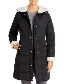 kate spade new york - Faux Fur Lined Hooded Parka