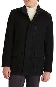 Cole Haan Wool Blend Car Coat