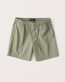 The A&F Lined Saturday Short, OLIVE GREEN