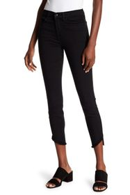 7 For All Mankind High Waist Ankle Gwenevere Raw A