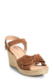 Born Monticello Knotted Wedge Sandal