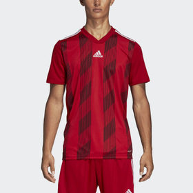 Adidas Men's Soccer Red Striped 19 Jersey