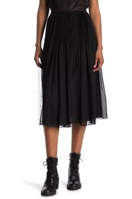 RED Valentino Muslin And Point D'esprit Tulle Plea