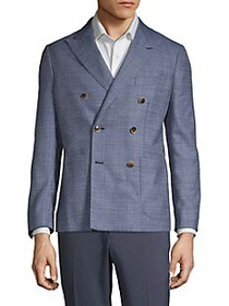 Saks Fifth Avenue Double Breasted Sport Coat