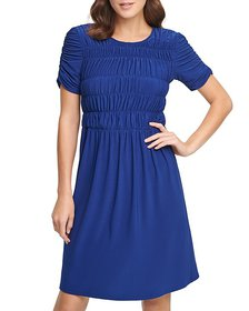 DKNY - Ruched Dress