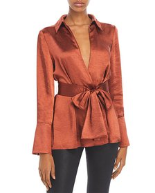 Significant Other - Aura Tie Waist Top