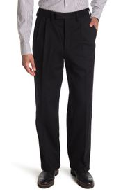 Burberry Pressed Front Wool Trousers
