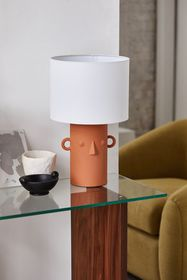 Ceramic Face Table Lamp