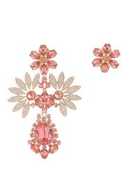 Burberry Rhinestone Flower Mismatched Cocktail Ear