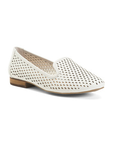 Comfort Perforated Casual Slip On Flats