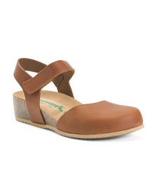 Made In Italy Slingback Leather Comfort Shoes