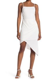 BCBGeneration Square Neck Sleeveless Asymmetrical
