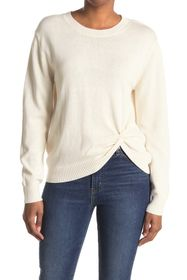 7 For All Mankind Twist Front Sweater